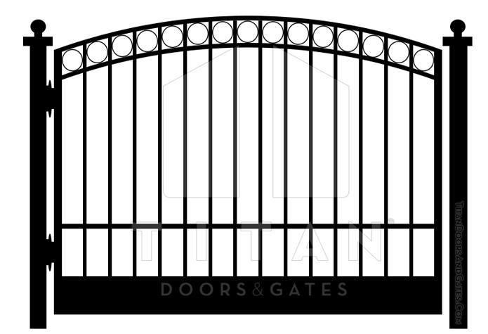 Iron Gate Designs | Titan Doors and Gates | (817) 769-6565