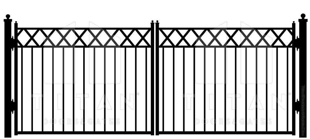 Iron Gate Designs | Titan Doors and Gates | (817) 769-6565