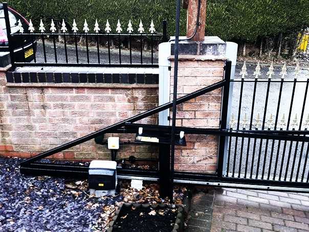 Prevent vehicle damage from automatic security gates